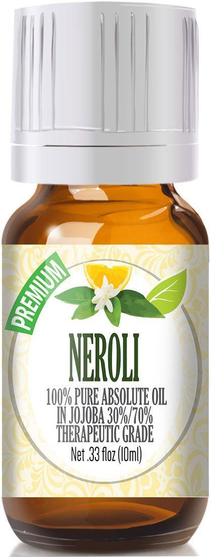 Neroli Essential Oil - 100% Pure in Jojoba (30%/70% Ratio) Best Therapeutic Grade
