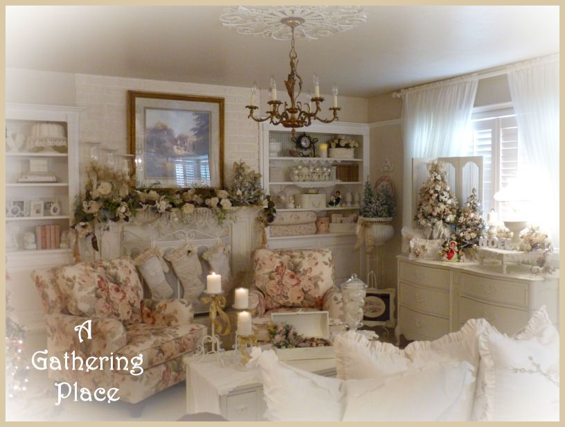 ~DECORATING FOR CHRISTMAS at My La Chaumière de Briarwood~