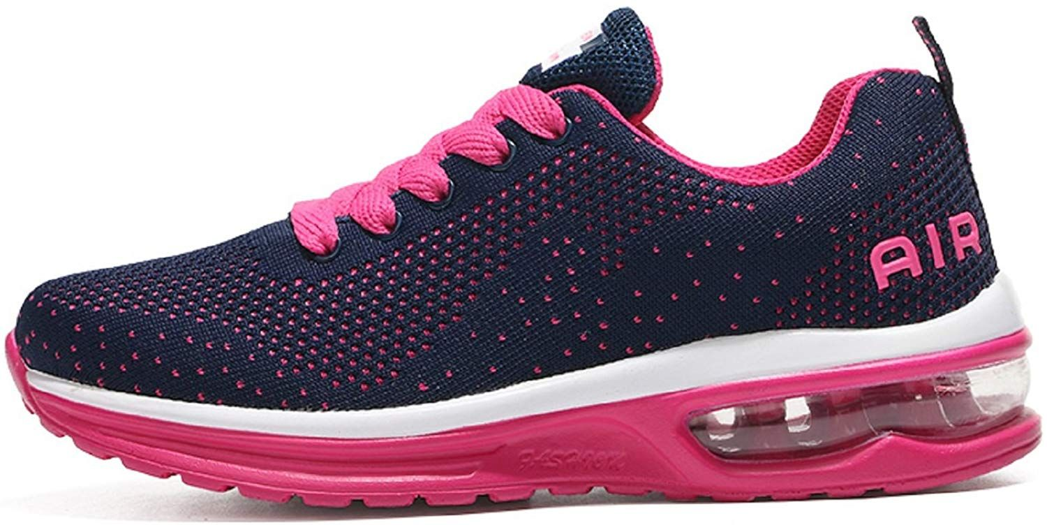 f58ba1078a1 tqgold Basket Femme Homme Chaussure de Sport Running Fitness Mode Sneakers  Rose Taille 39  Amazon