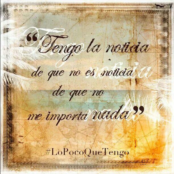 Lo# poco#q# tengo