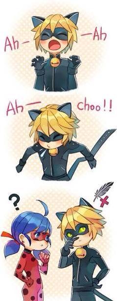 Kawaii chat noir