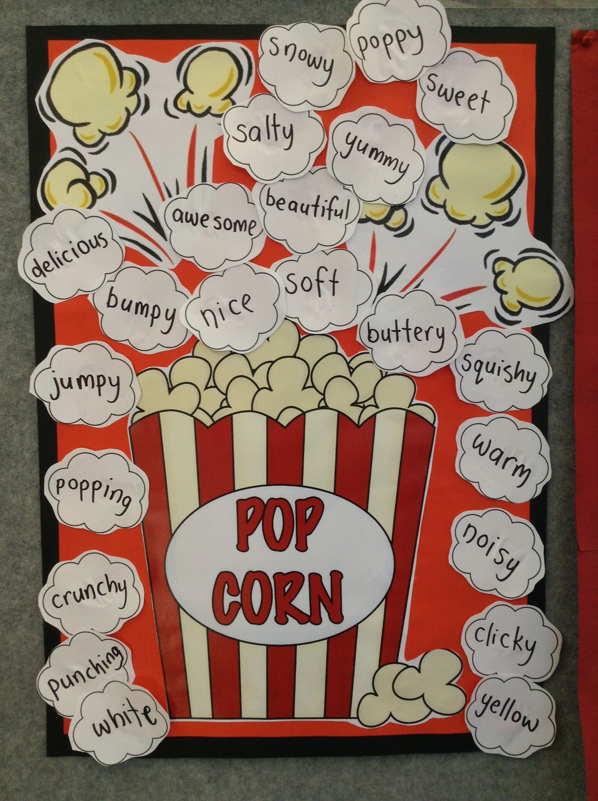 Popcorn Writing