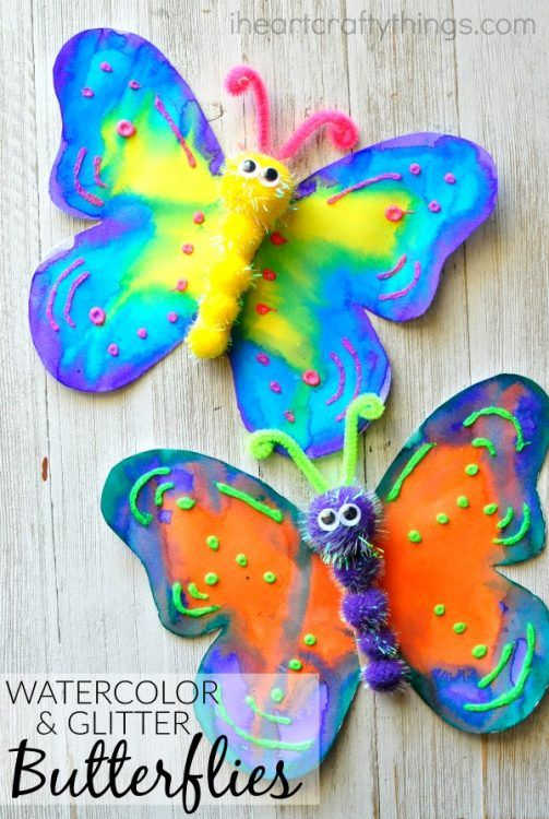 How To Make A Gorgeous Butterfly Craft Kids Craft Crafts For