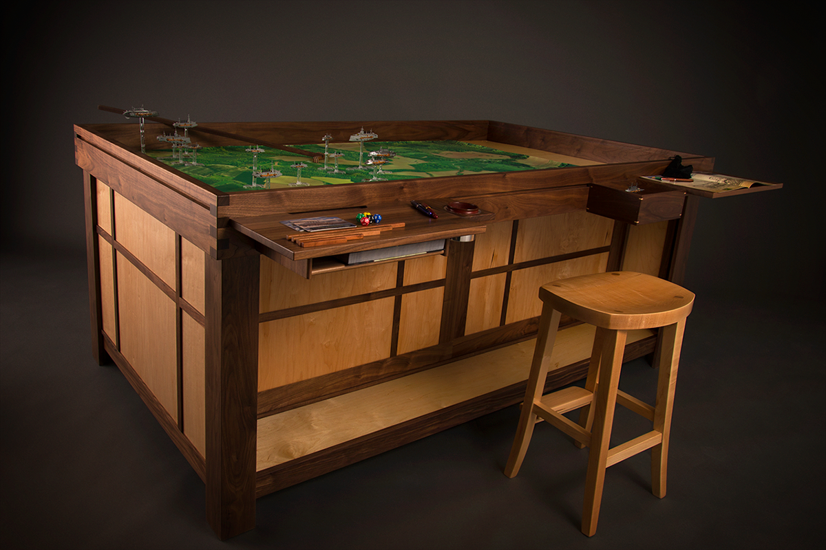 Geeky Coffee Tables Spartan Gaming Table A Battlefield Worth Fighting For