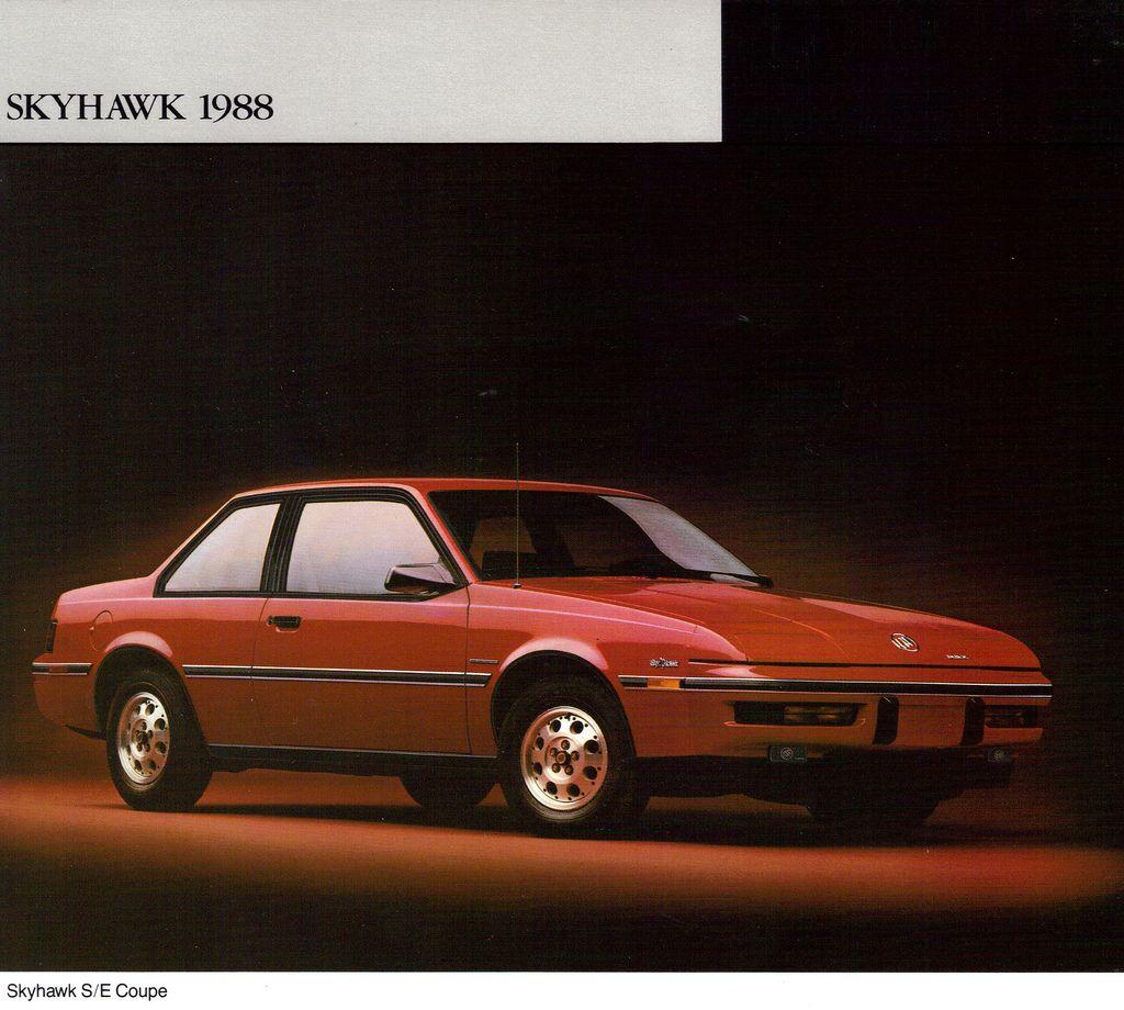 1968 buick electra 225 2 door hardtop front 3 4 81136 - 1988 Buick Skyhawk S E Coupe