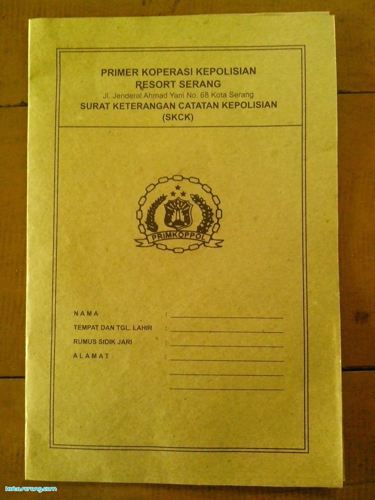 Proses Dan Langkah Pembuatan Surat Keterangan Catatan