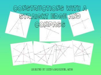 7 Constructions With A Straight Edge And Compass With Images