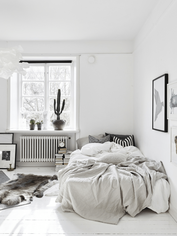 Modern Scandinavian Style Bedroom 40 Minimalist Ideas