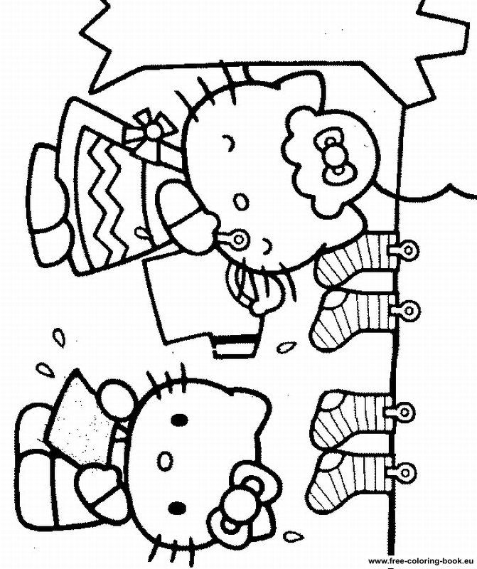 Hello Kitty Coloring Pages To Print Hello Kitty Colouring
