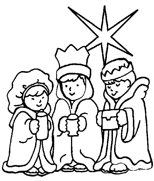 Christian Christmas Coloring Pages Free Printables