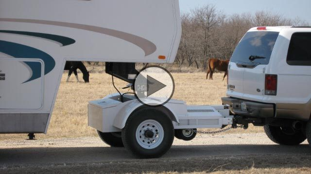 Tow All Dolly Advanced Towing System For Hauling 5th Wheel And