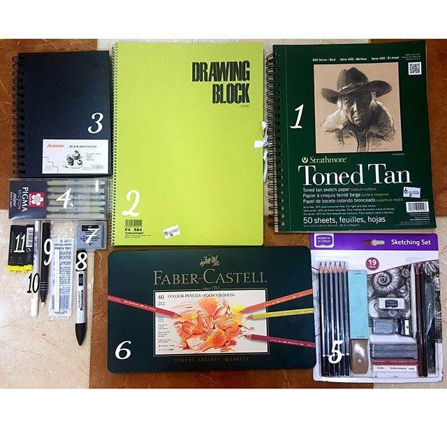 Mulpix صباااح الخير جمييعا جمعة طيبة متابعيني الجميلين وهذي ادواتي من مكتبة جرير رحت لها قبل اسبوع تقريبا Drawing Block Faber Castell Book Cover