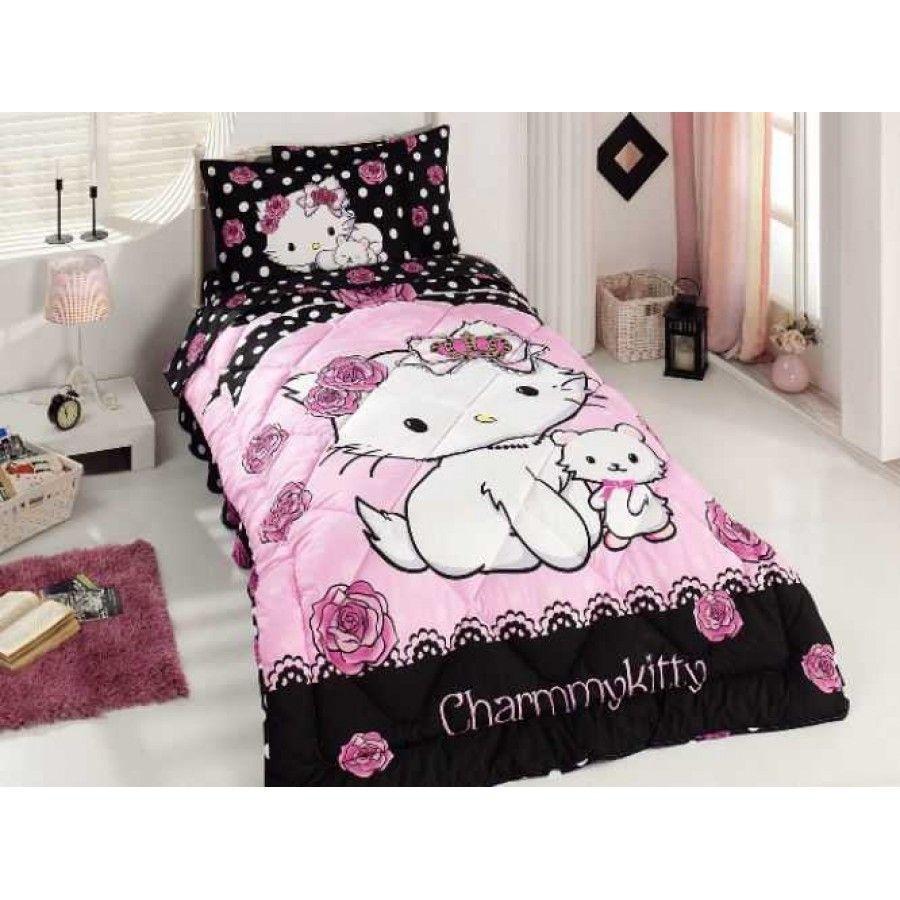 Hello Kitty Charmmy Little Friend Tek Kişilik Uyku Seti