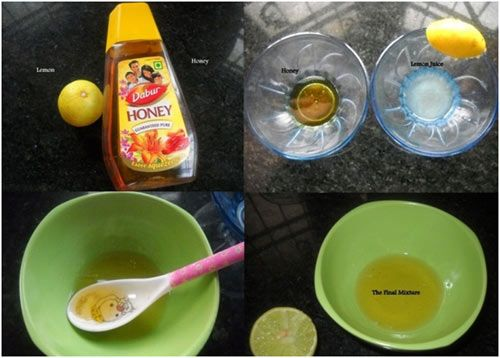 Lemon Juice And Honey Mix For Oily Skin This Works Wonders If You
