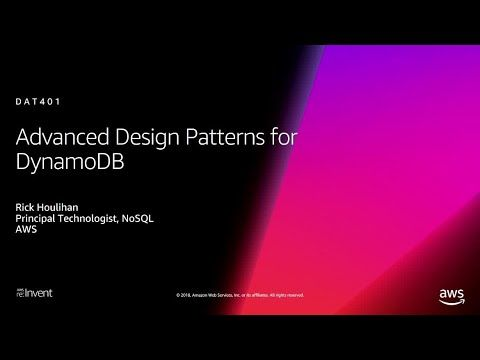 Aws re invent amazon dynamodb deep dive advanced design patterns for dat youtube also rh pinterest