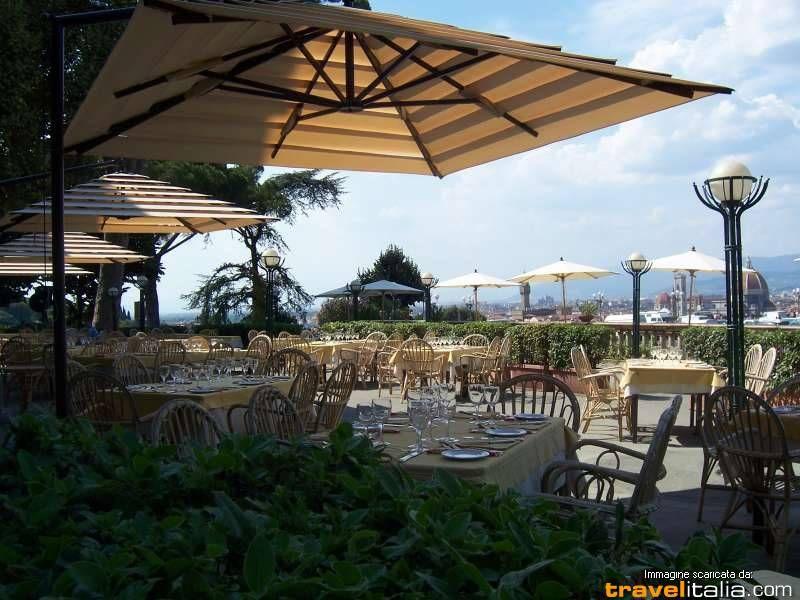 Ristorante Caffè La Loggia Firenze Fi Foto Patio