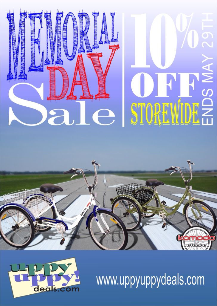 Memorial Day Sale At Www Uppyuppydeals Com 10 Off Storewide