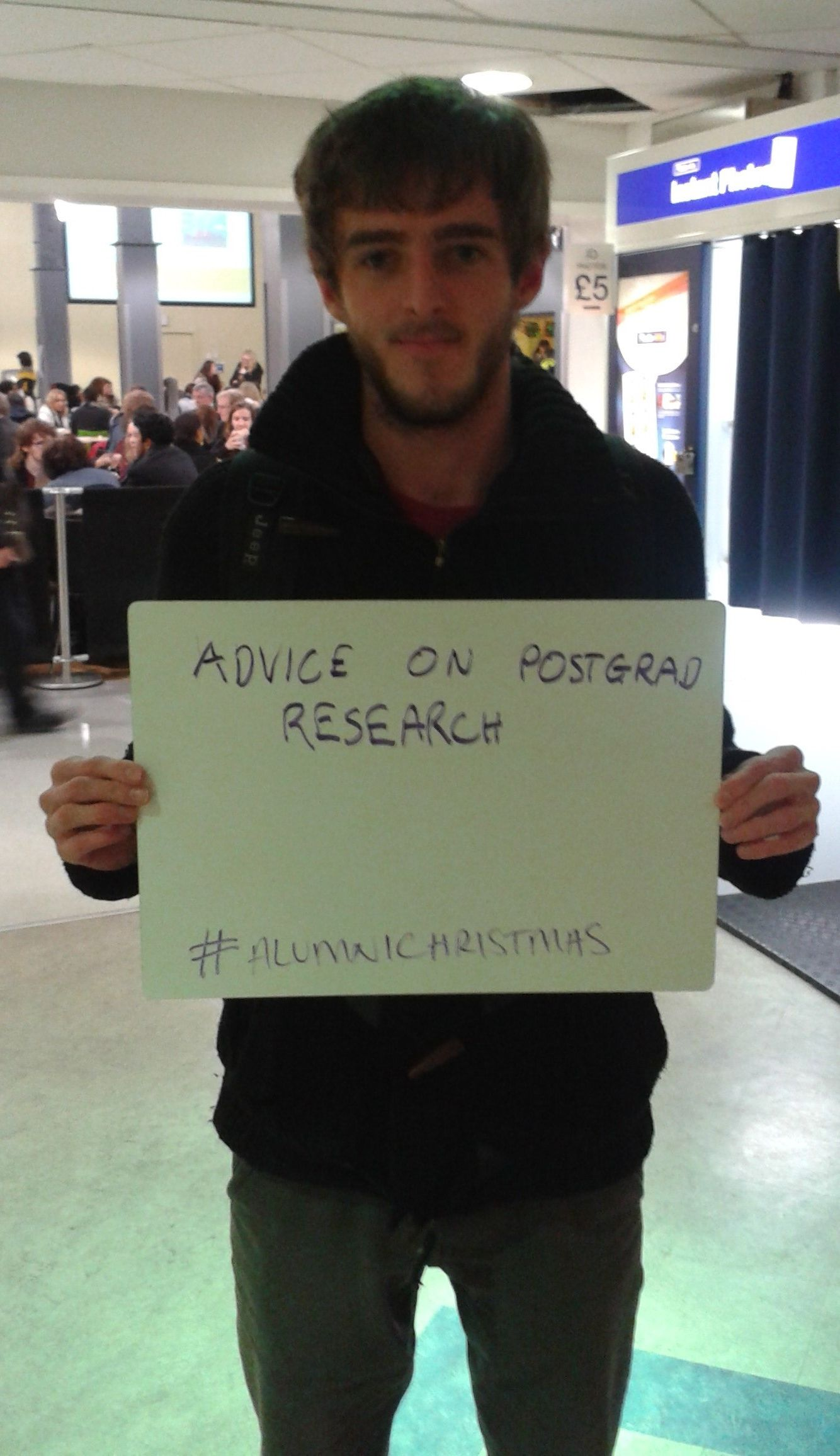 This student would appreciate advice on postgrad research