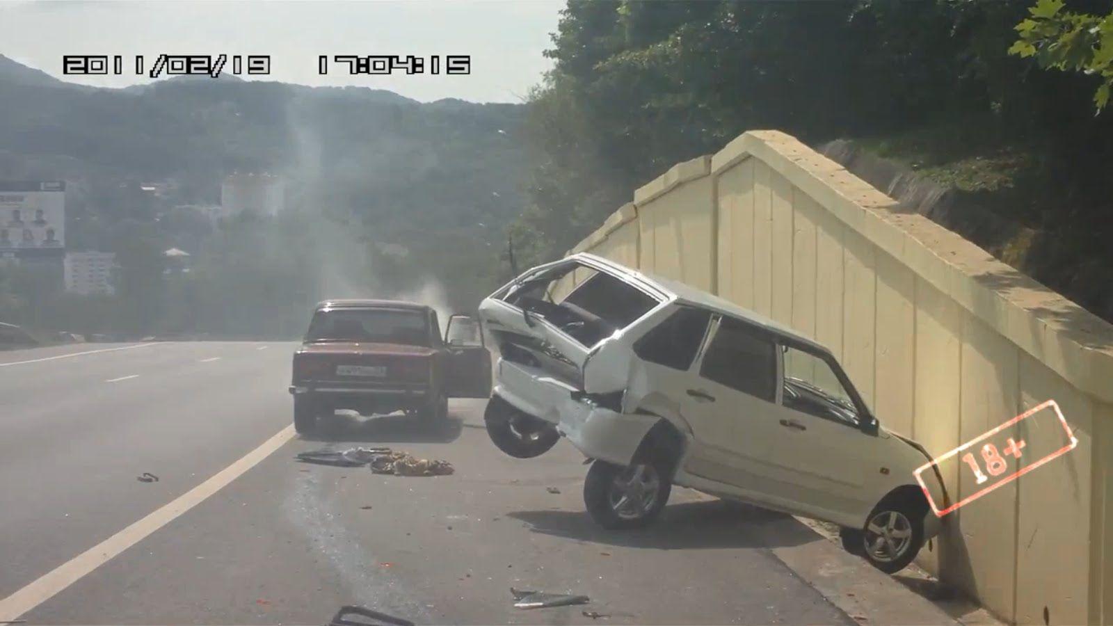 Подборка Аварий и ДТП Июль 2015 (46) Пропаганда правил дорожного движения.