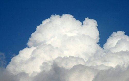 Dit is de foto van de wolk die ik heb gebruikt om mezelf op te zetten.