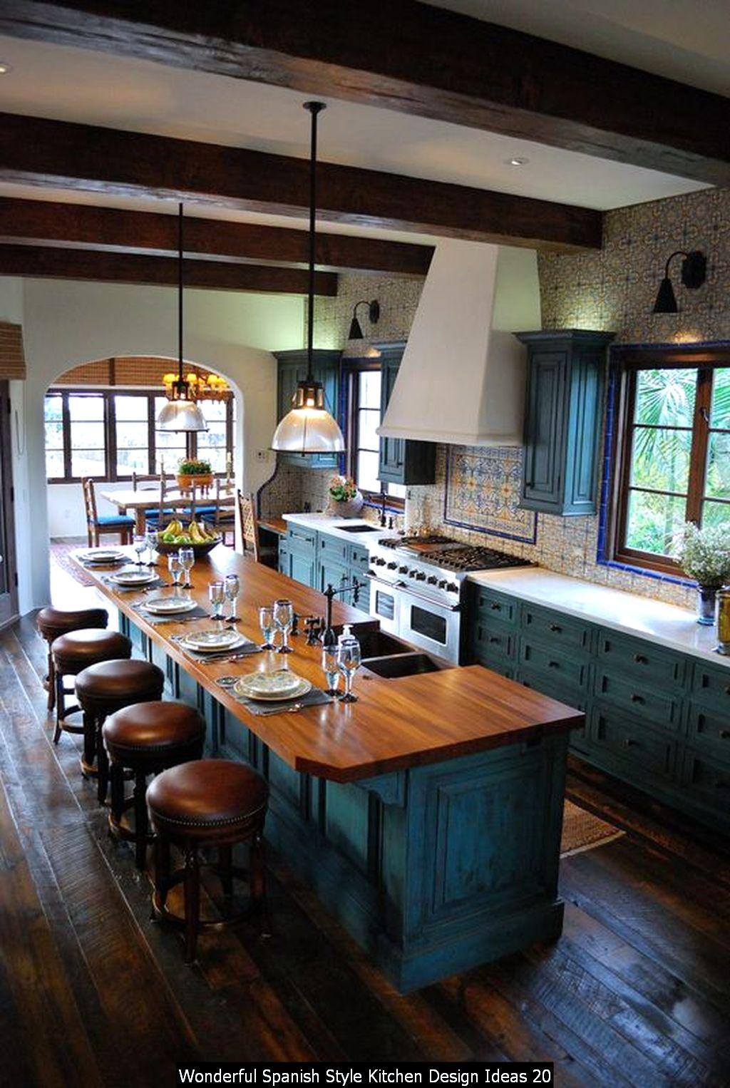 Wonderful Spanish Style Kitchen Design Ideas Mediterranean Kitchen Design Affordable Farmhouse Kitchen Interior Design Kitchen
