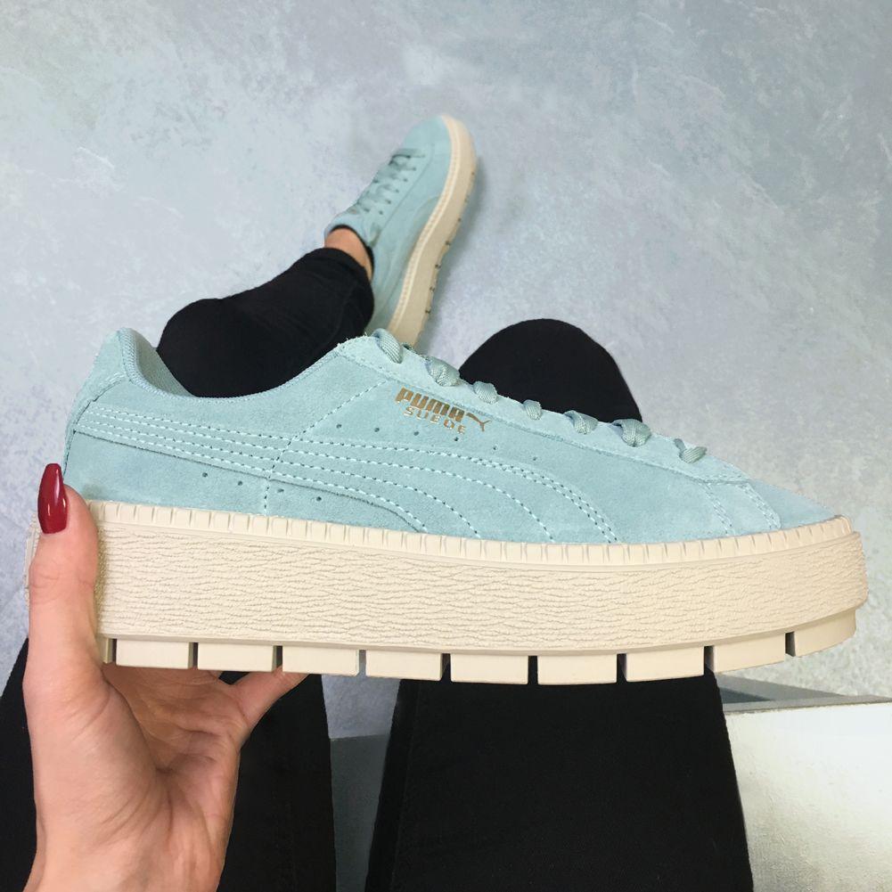 PUMA Suede Platform Trace Damen Sneaker 365830 04 für nur 34,99!