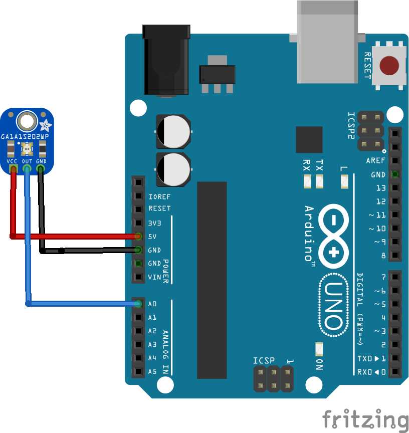 Arduino GA1A12S202 Analog Light Sensor example | Arduino in 2019