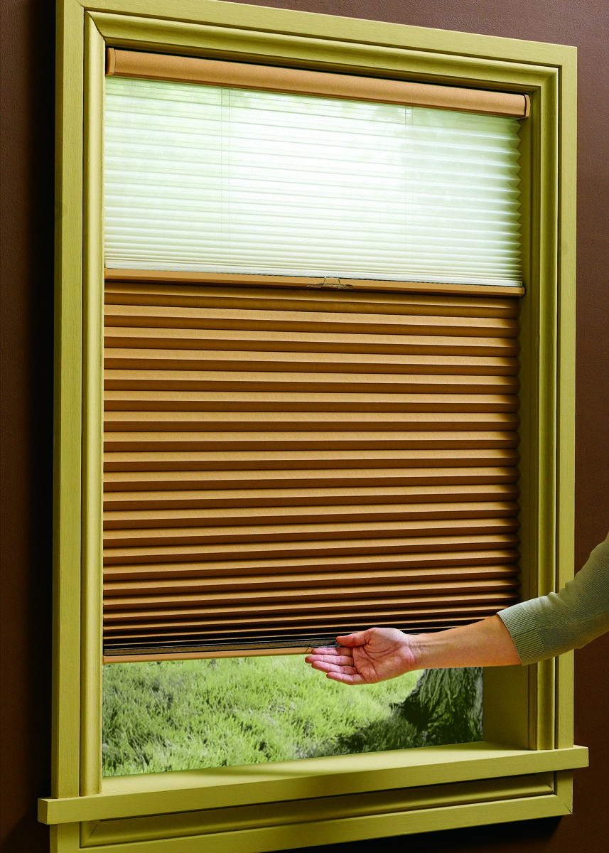 how to take down blinds from window