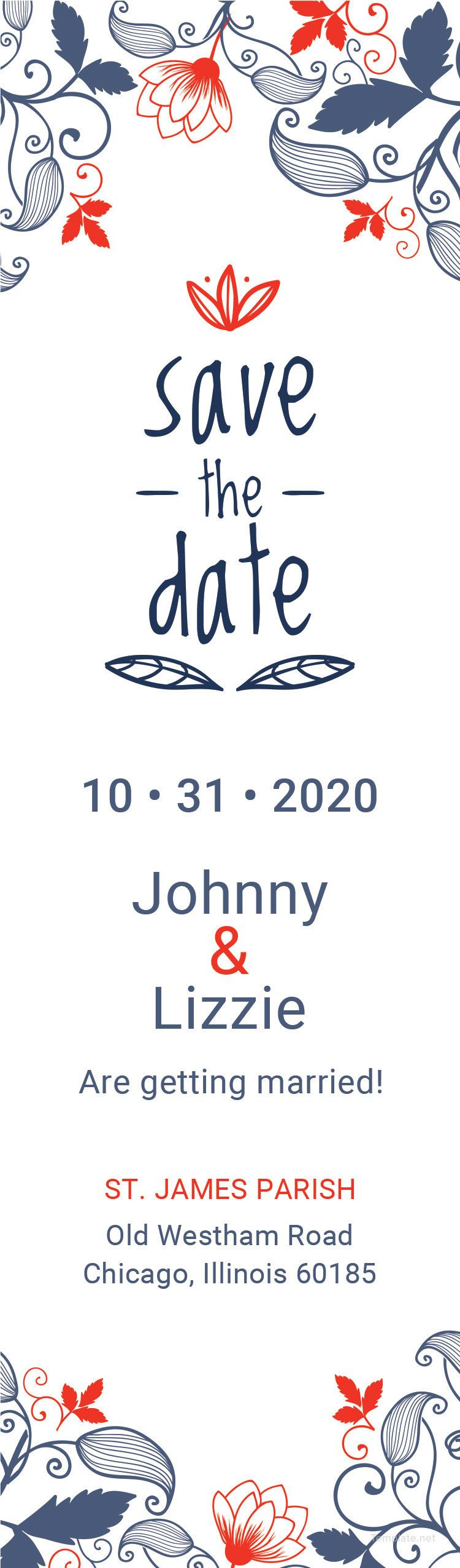 Save The Date Bookmark Template Free Jpg Illustrator Word Apple Pages Psd Publisher Template Net Bookmark Template Templates Words Save the date bookmark template