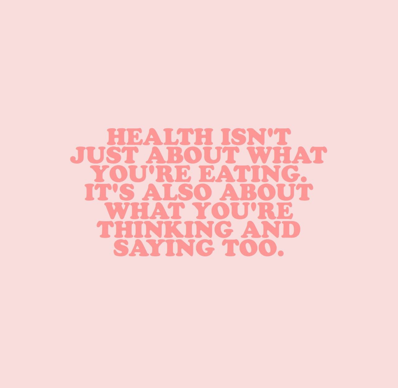 Health aesthetic quotes