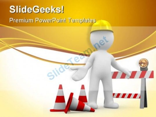 Under Construction08 Architecture Powerpoint Templates And