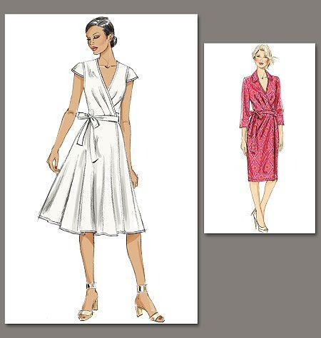 Patron de robe - Vogue 8784 | couture | Pinterest | Mode für Frauen ...