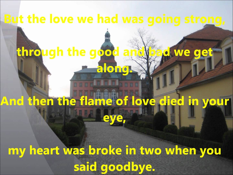 The Last Waltz Lyrics Engelbert Humperdinck September 3