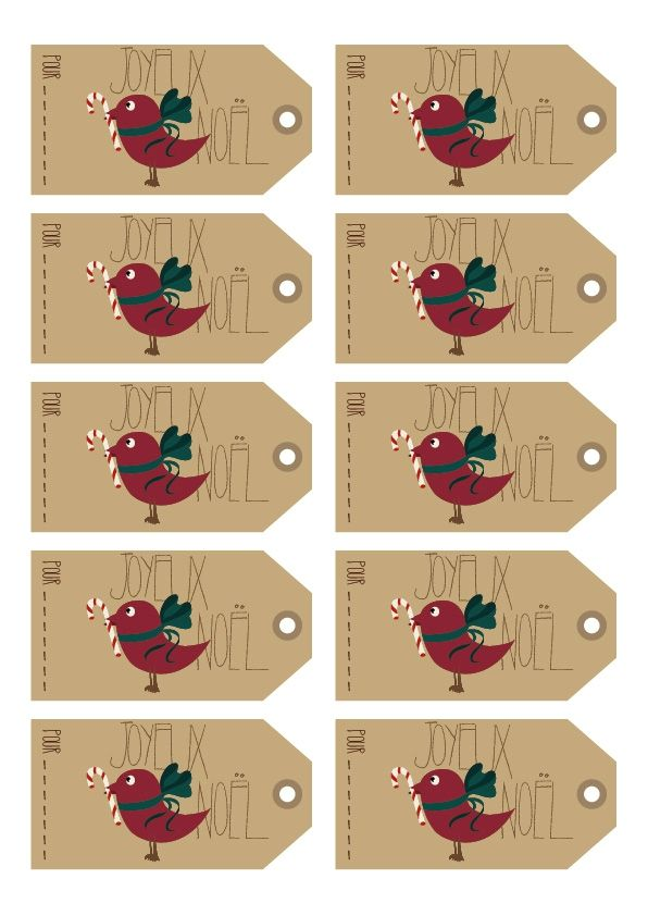 Printable de NOël*** - Fanette des champs | Christmas ideas ...