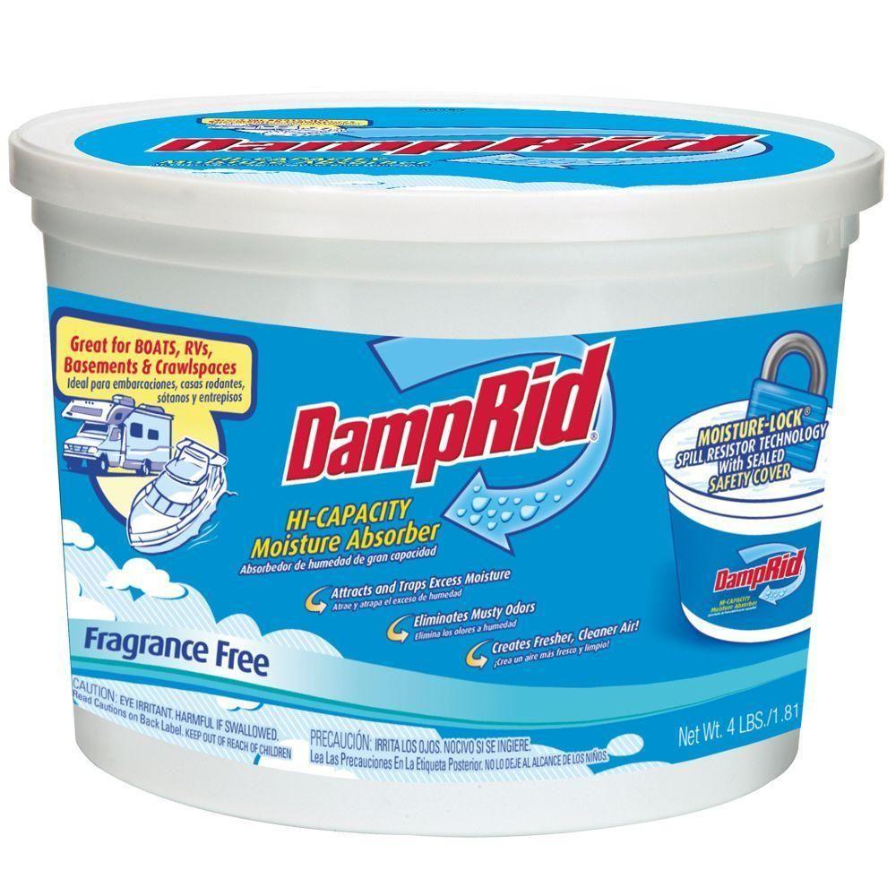 DampRid 64 oz. Fragrance Free High Capacity Moisture