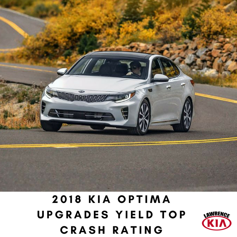 2018 Kia Optima Upgrades Yield Top Crash Rating Kia Optima Kia