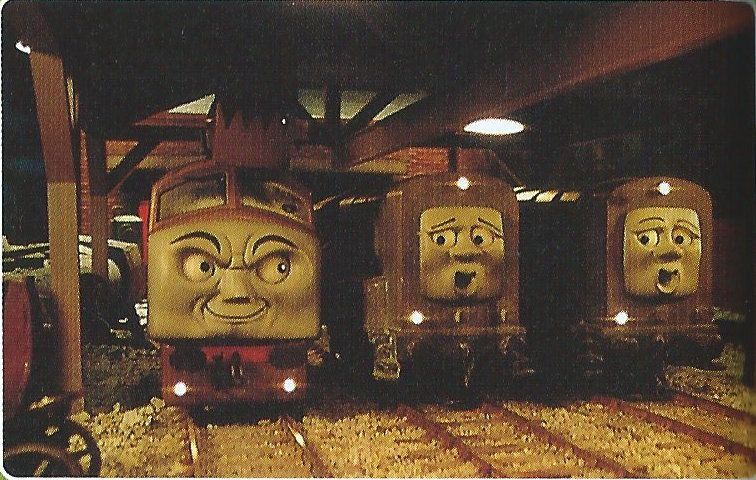 Thomas And The Magic Railroad Rare Picture By