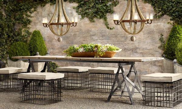 Restoration Hardware Outdoor Furniture Restoration