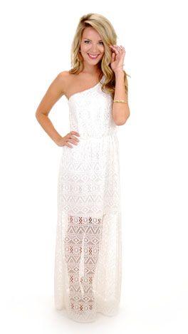 a60b3fb78027 Jeannie Maxi, White Lace | Future Closet | White lace, Lace, White maxi