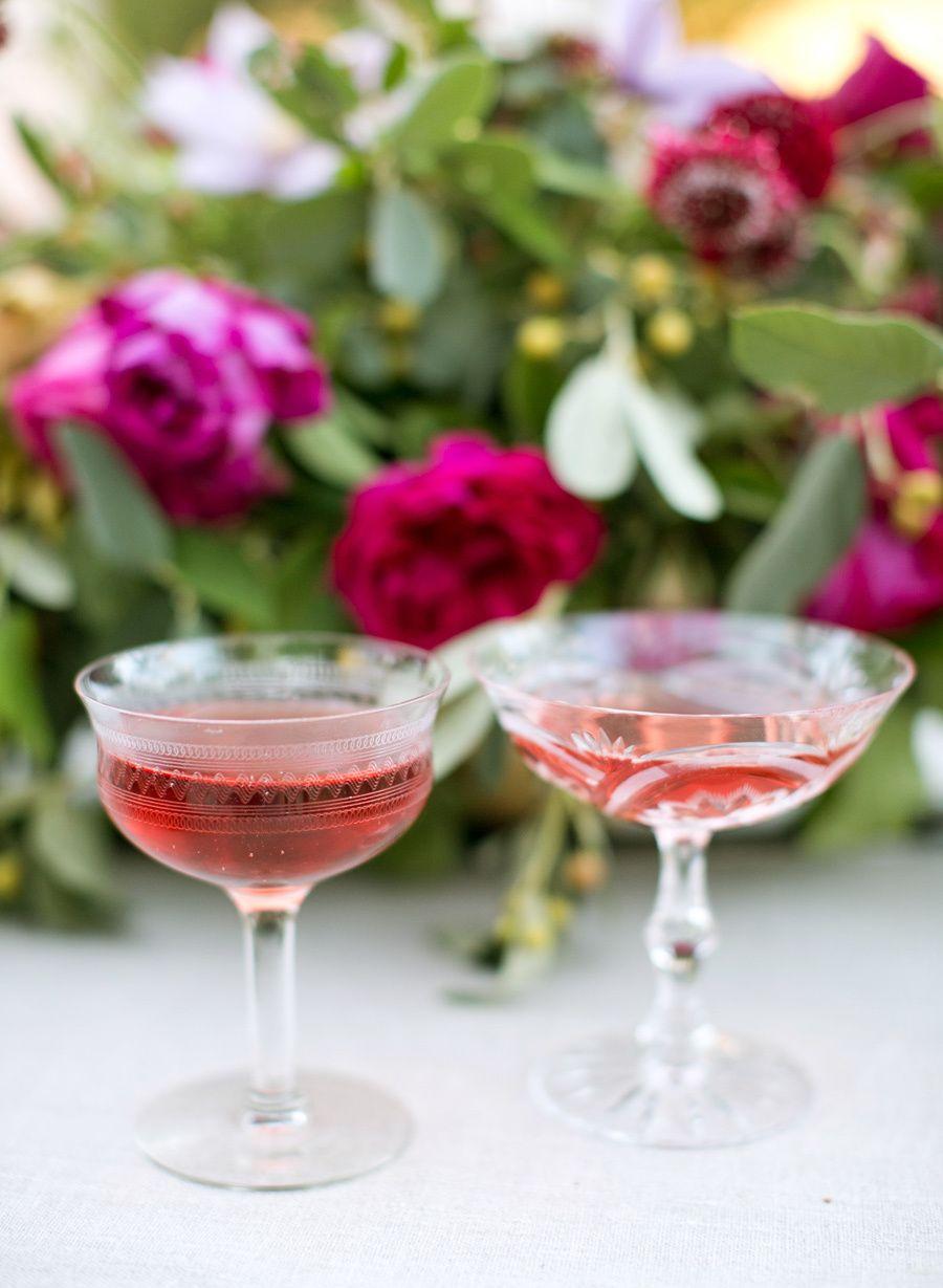 Romantic Berry Pink Sonoma Wedding Sonoma Wedding Wine Theme Wedding Wine Wedding