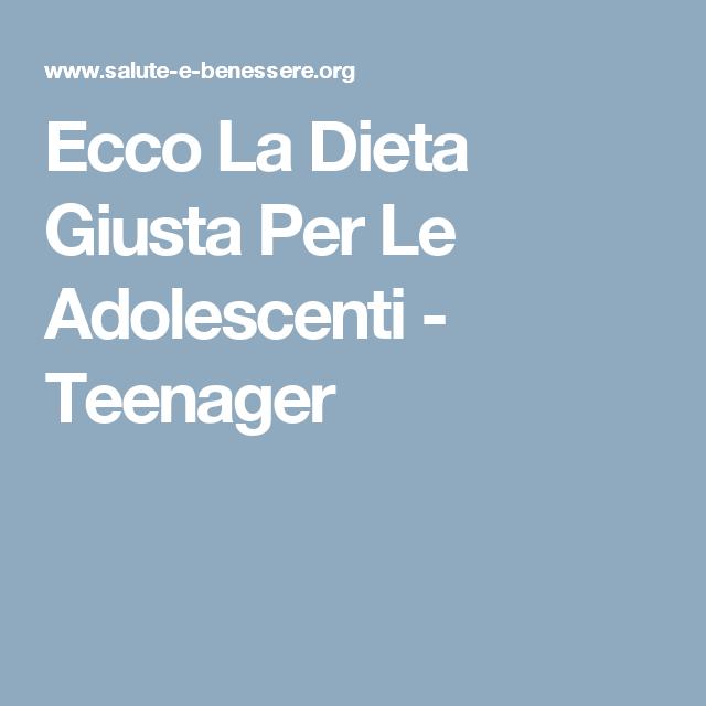 peso ideale per adolescenti