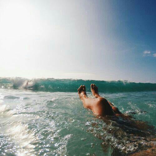 En el Mar!!
