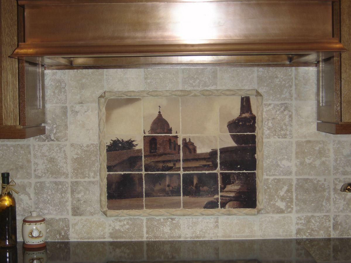 Decorative Tile For Backsplash In Kitchens Would A Tile Mural Be A Waste On A Backsplash  Tile Murals