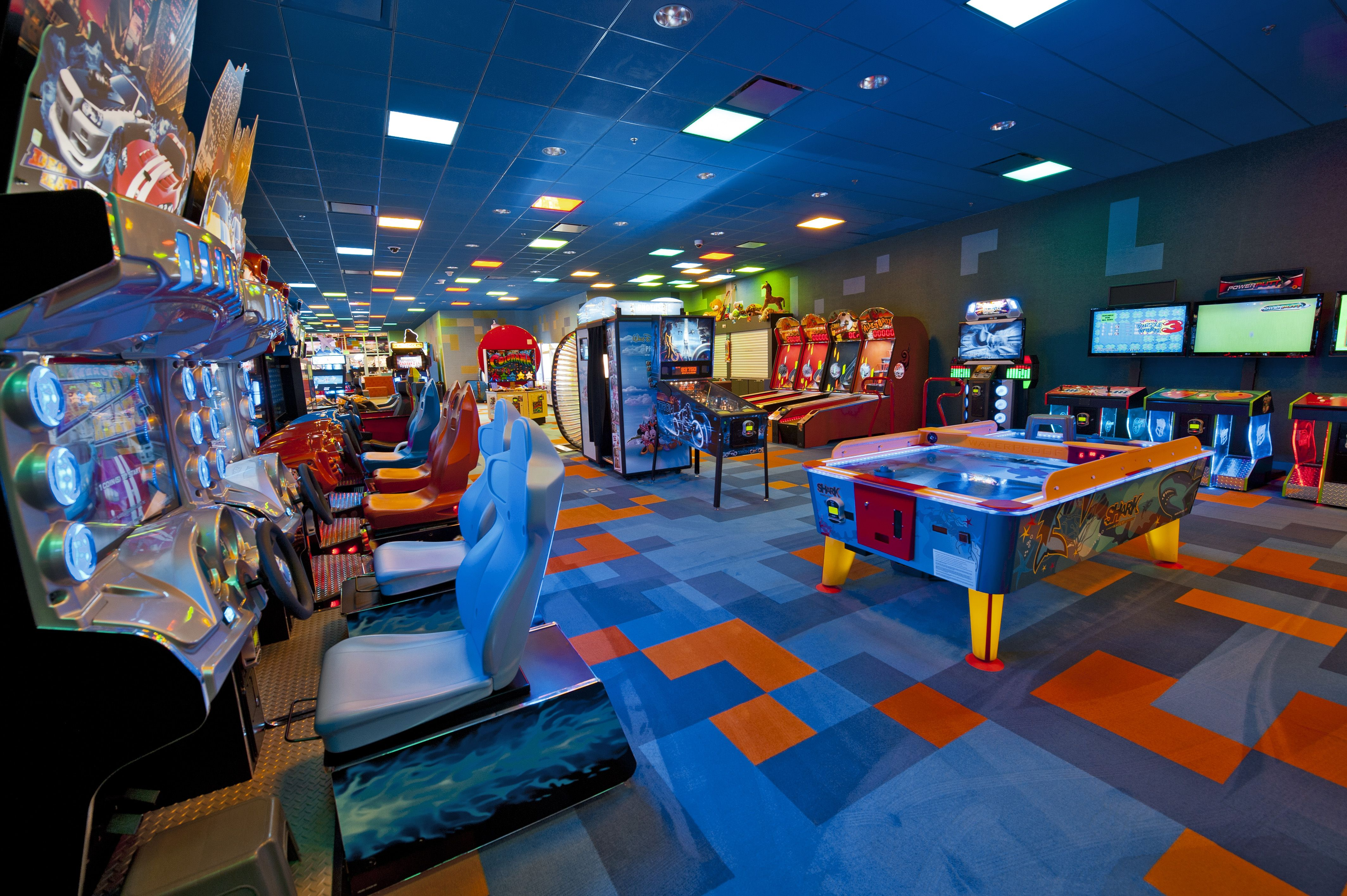 Pixel Play Arcade at Disney's Art of Animation