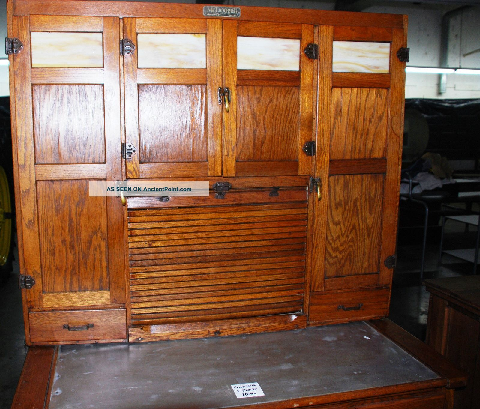 Mcdougall Kitchen Cabinet   Vintage   Hoosier   Style Photos And  Information In AncientPoint