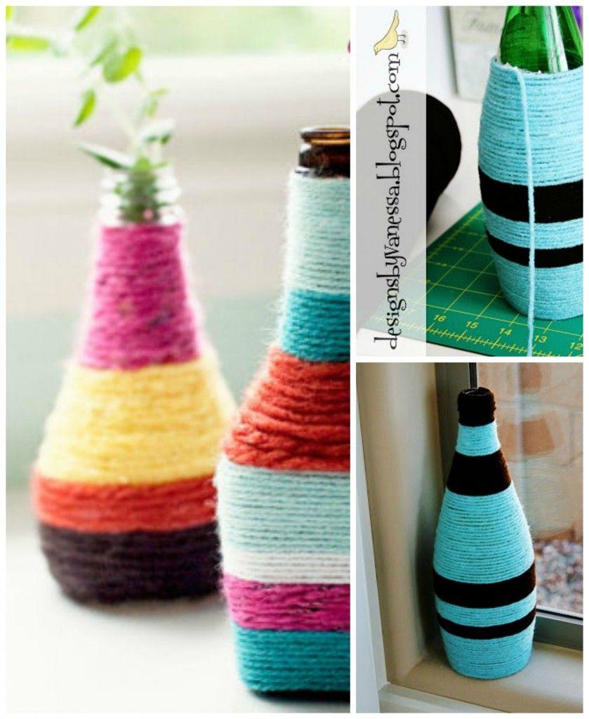 35 Diy Flower Vases Creative Tutorials Simple Diy