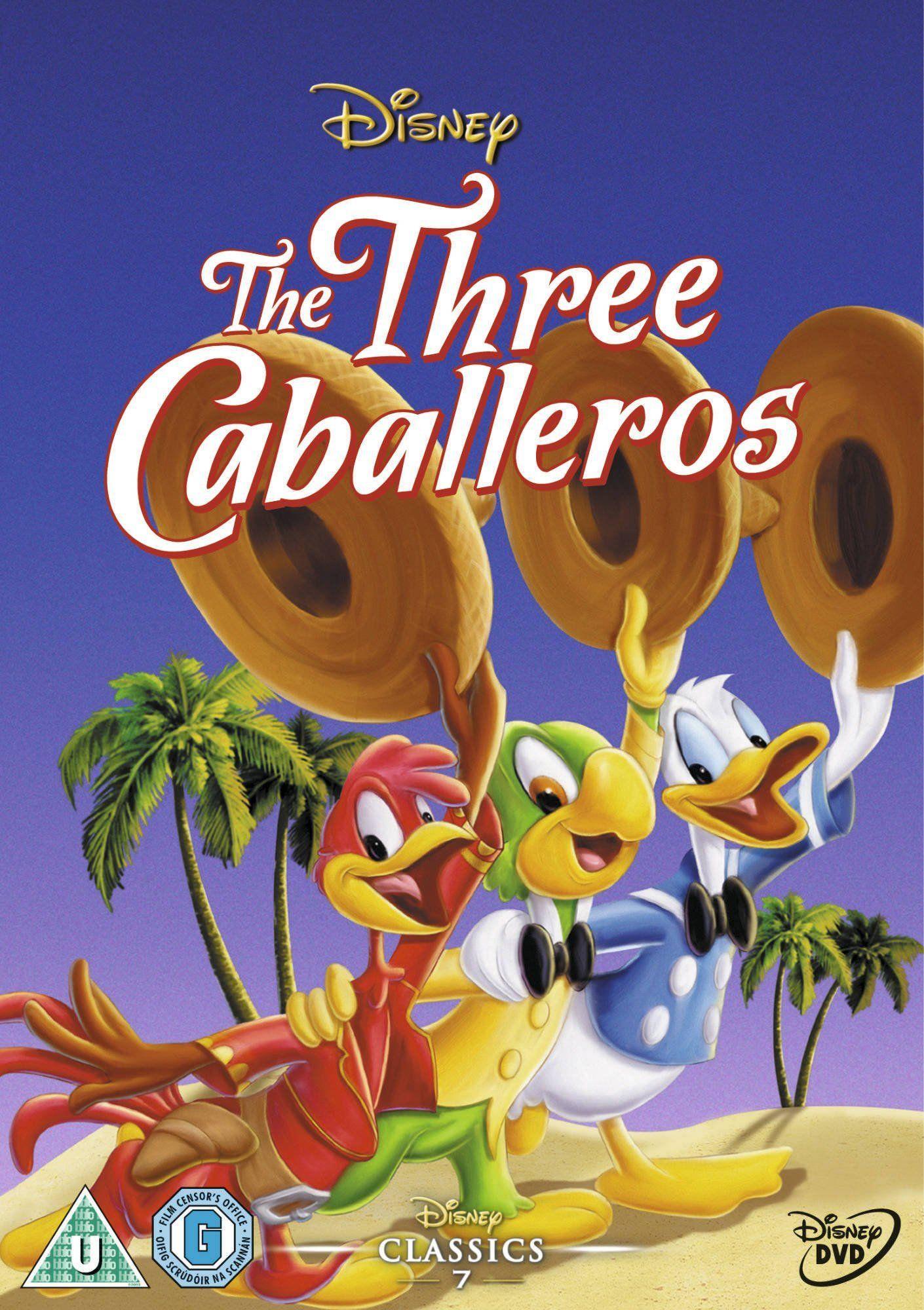 The Three Caballeros Reino Unido Dvd Reino Caballeros Dvd Unido Peliculas De Disney Imagenes De Disney Peliculas De Los 50