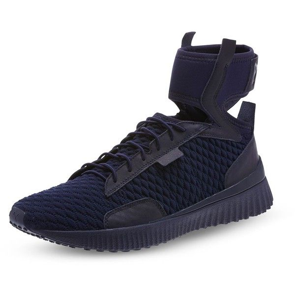 f7ecdb196f6e44 Fenty Puma x Rihanna Mid Top Ankle Cuff Sneakers ( 170) ❤ liked on Polyvore  featuring shoes