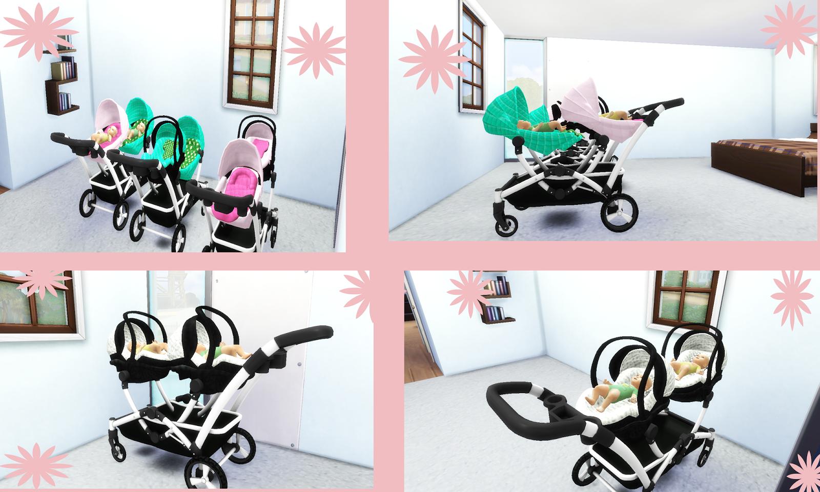 Doublestroller Lena Sims Cc Sims4 Pinterest Sims