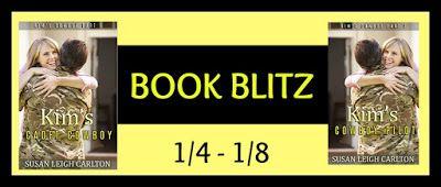 BOOK BLITZ - Kim's Cadet Cowboy Series by Susan Leigh Carlton - @susanleighcarlt, @BookPlugPromo, #Military, #Romance, #Western (January)